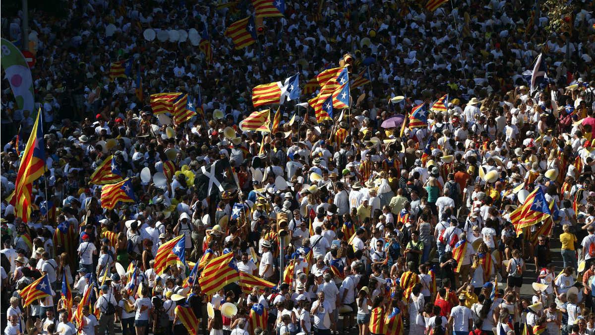 Diada en Cataluña.