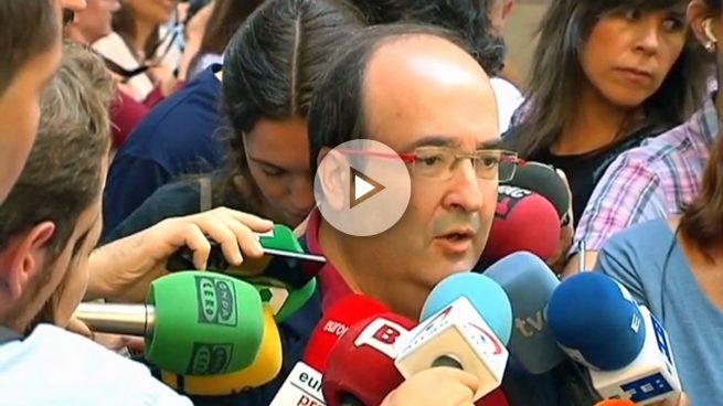 """Iceta sobre Puigdemont: """"Ha desconectado de la realidad, no hay una mayoría por la independencia"""""""