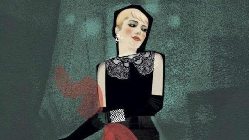 La versión rubia de Holly Golighty según Karen Klassen.