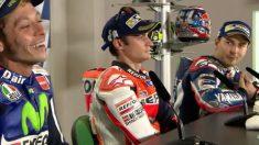 Rossi y Lorenzo discutieron en rueda de prensa.
