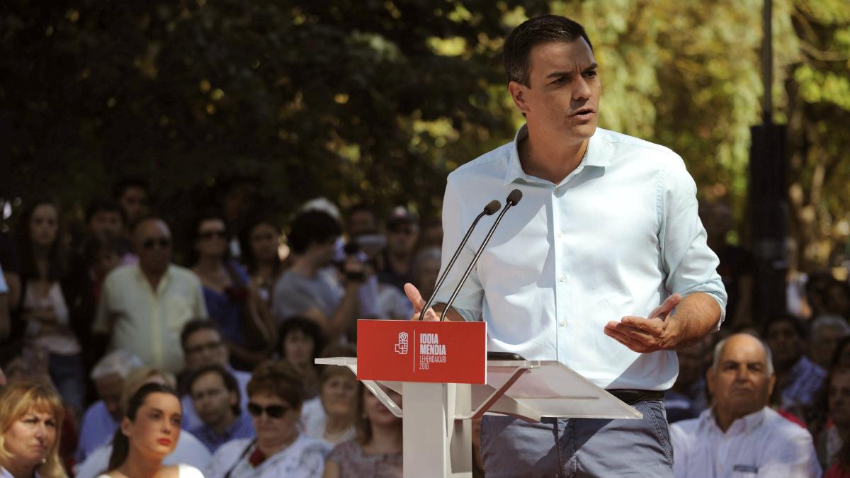 El secretario general del PSOE, Pedro Sánchez (EFE).
