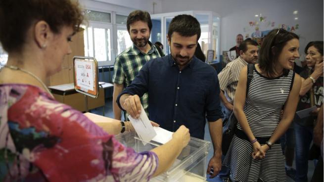 Espinar se postula a liderar Podemos Madrid tras criticar a Maestre: «Las familias políticas nunca hacen bien a nadie»
