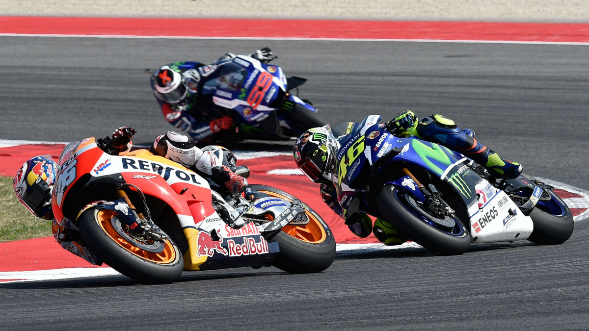 El de 2016 está siendo uno de los mundiales más movidos de la historia de MotoGP. (Getty)