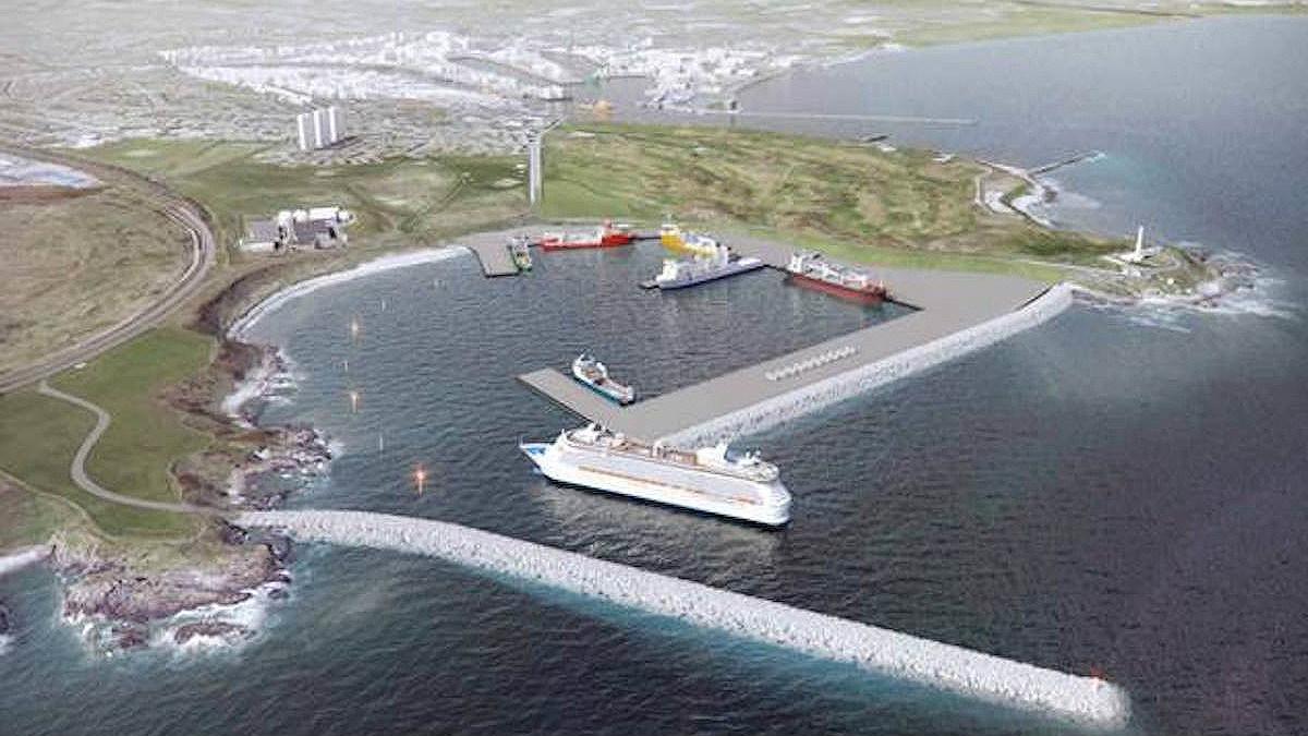 Puerto de Aberdeen, en Escocia. (Foto: ACS)