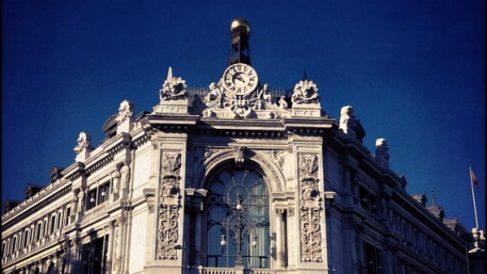 Fachada del Banco de España. (ADP)