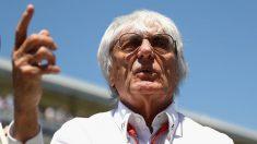 Bernie Ecclestone, jefe de la Fórmula 1. (Getty)