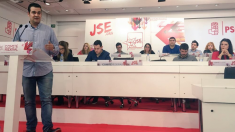 Nino Torre, secretario general de Juventudes Socialistas