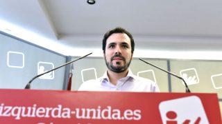 El coordinador federal de IU, Alberto Garzón (Foto: Efe)