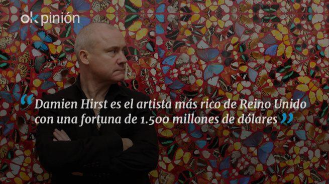 Rebelde, morboso, multimillonario: Damien Hirst