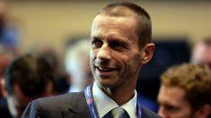 Aleksander Ceferin, presidente de la UEFA. (Getty)
