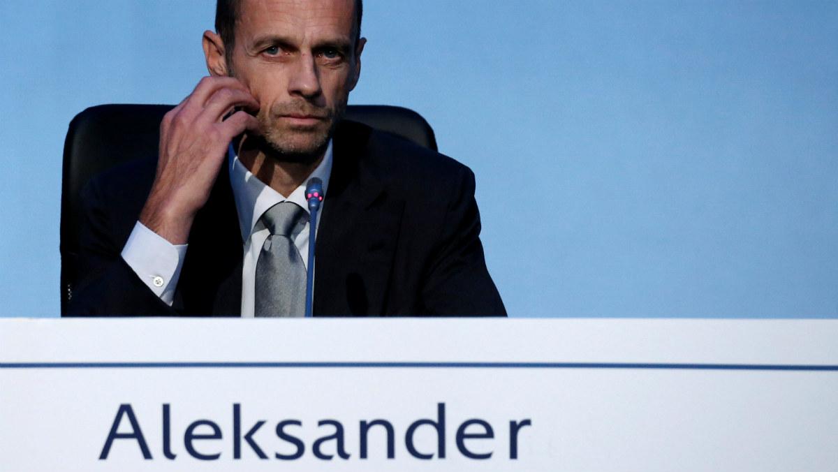 Aleksander Ceferin, nuevo presidente de la UEFA. (Reuters)