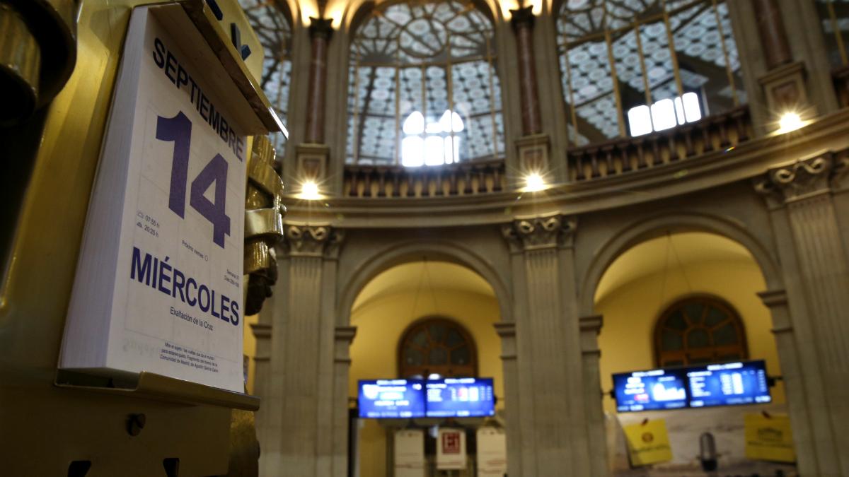Bolsa de Madrid (Foto: GETTY).
