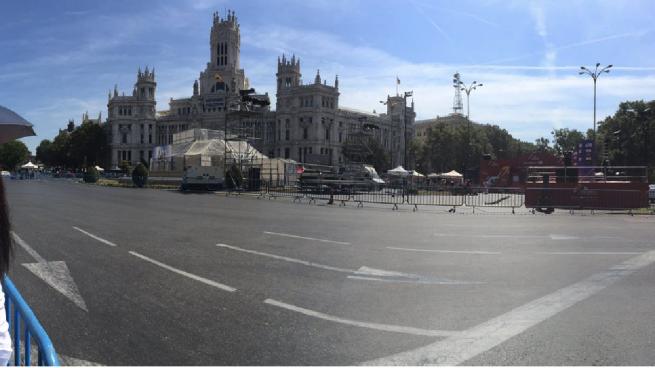 Carmena 'secuestra' la fuente de La Cibeles: se retrasan las obras de rehabilitación