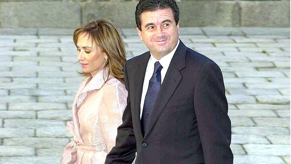 Jaume Matas y su esposa (Foto: Getty).