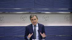 El portavoz de Economía del PSOE, Pedro Saura. (Foto:EFE)