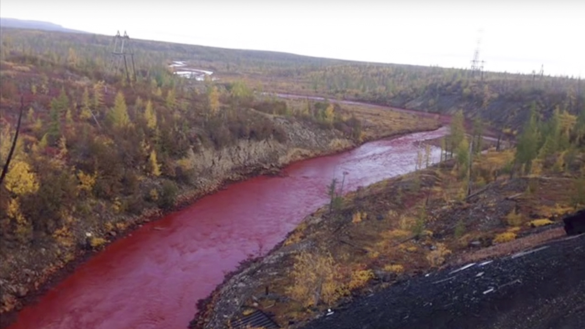 Río Daldykan.