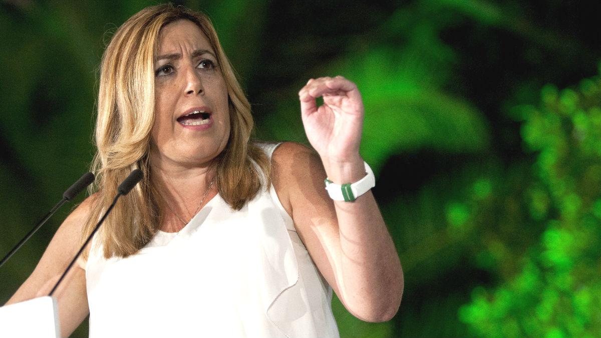 La secretaria general del PSOE de Andalucía, Susana Díaz (Foto: Efe)