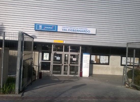 Centro Deportivo Municipal de Valdebernardo. (Foto: GI)