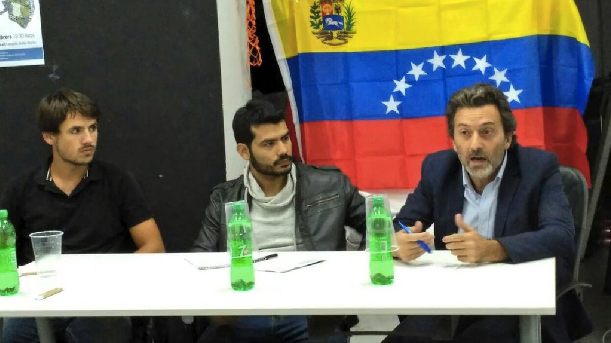 El teniente alcalde de Carmena, Mauricio Valiente, en un acto este jueves. (Foto: TW)