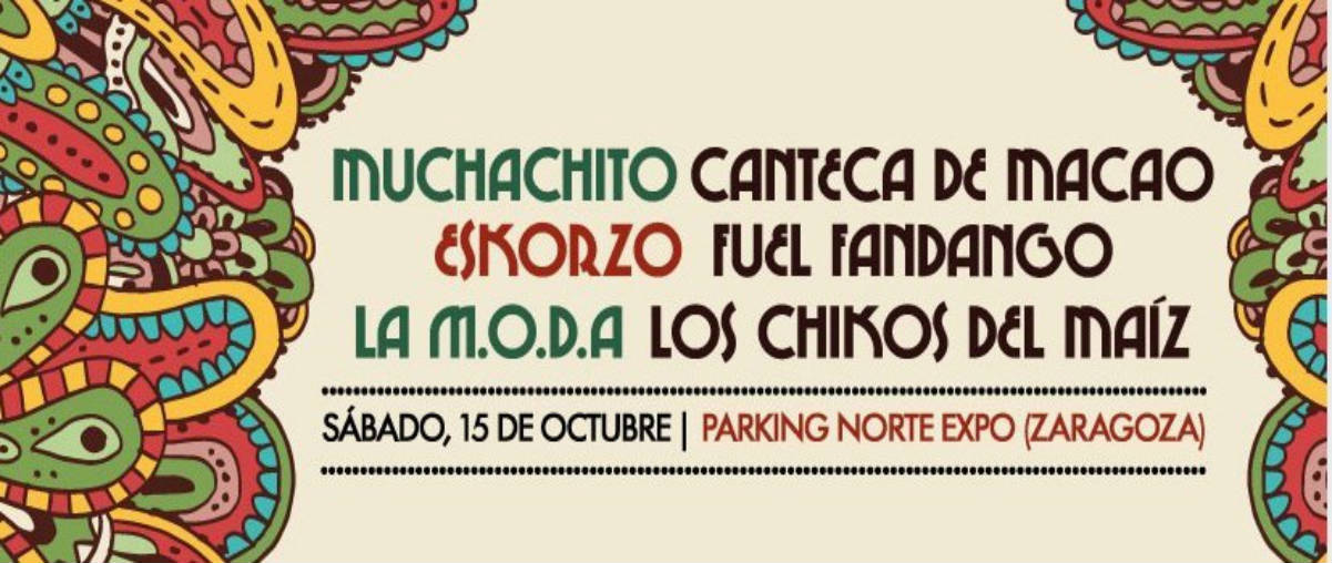 Festival MestiZa Fiestas del Pilar 2016