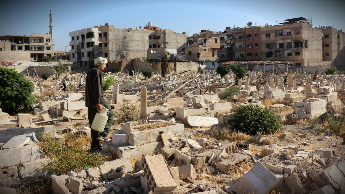 Bombardeos sobre Siria (Getty)
