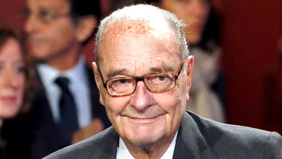 Jacques Chirac en una imagen de 2014 (Foto: Reuters).