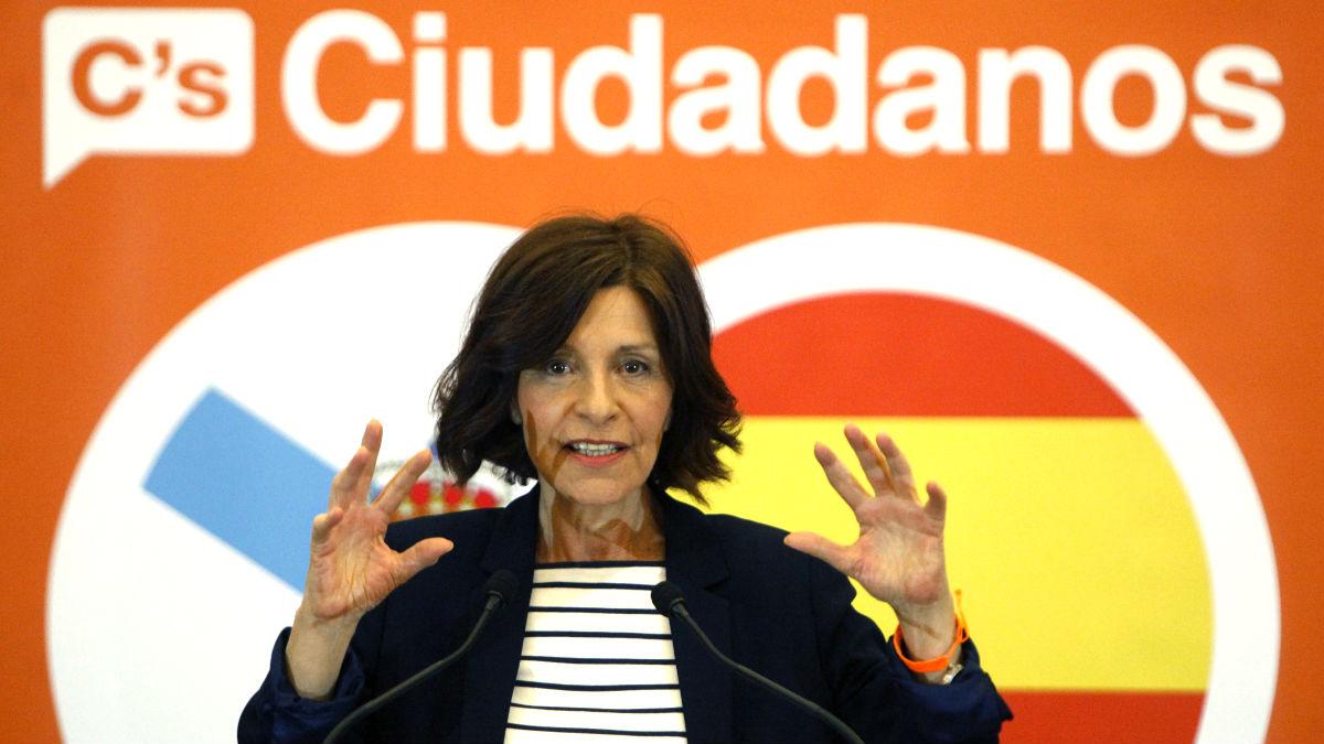 Cristina Losada en un reciente acto (Foto: Efe).