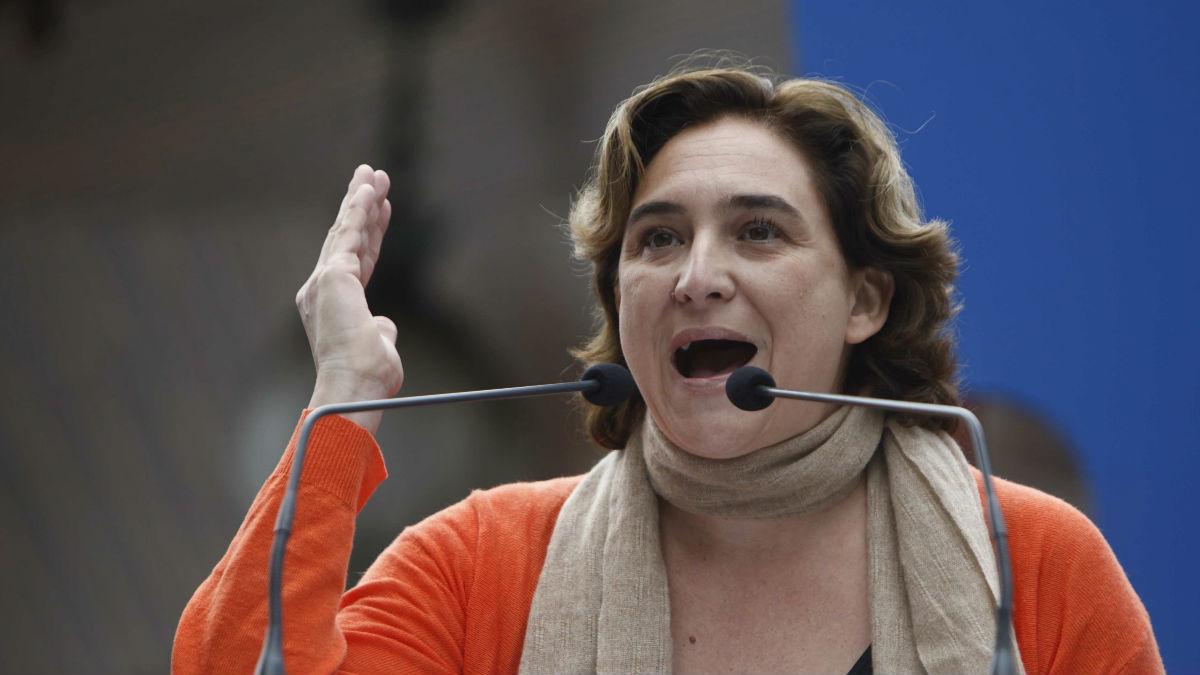 Ada Colau, alcaldesa de Barcelona. (Foto: Efe).