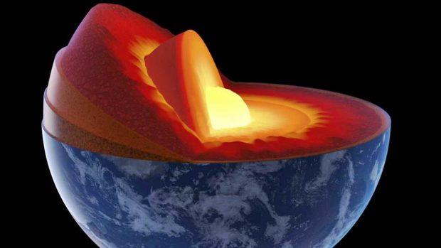 ¿Cuáles son las capas de la Tierra? - Núcleo