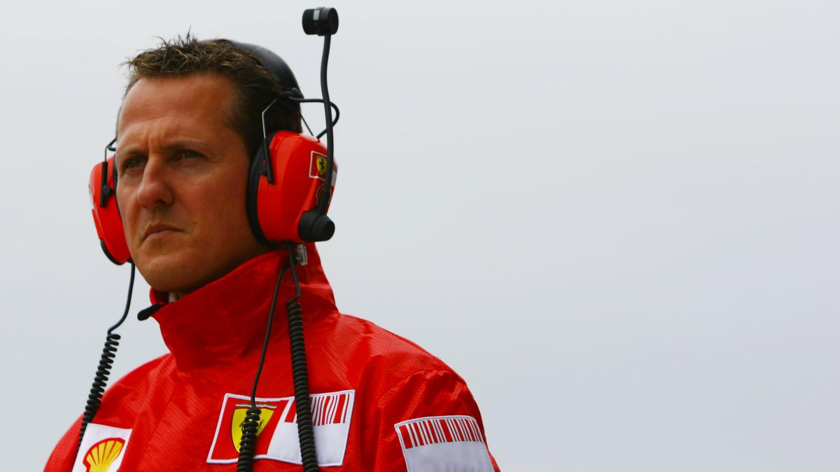 Schumacher, en su etapa con Ferrari. (Getty)