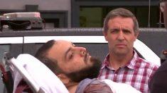 Ahmad Khan Rahami, trasladado en camilla tras ser herido en su detención. (TW)