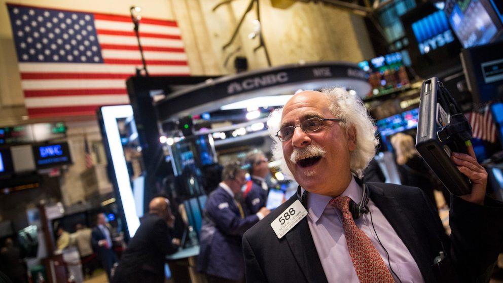 Un agente de Bolsa en Wall Street. (Foto: Getty Images)
