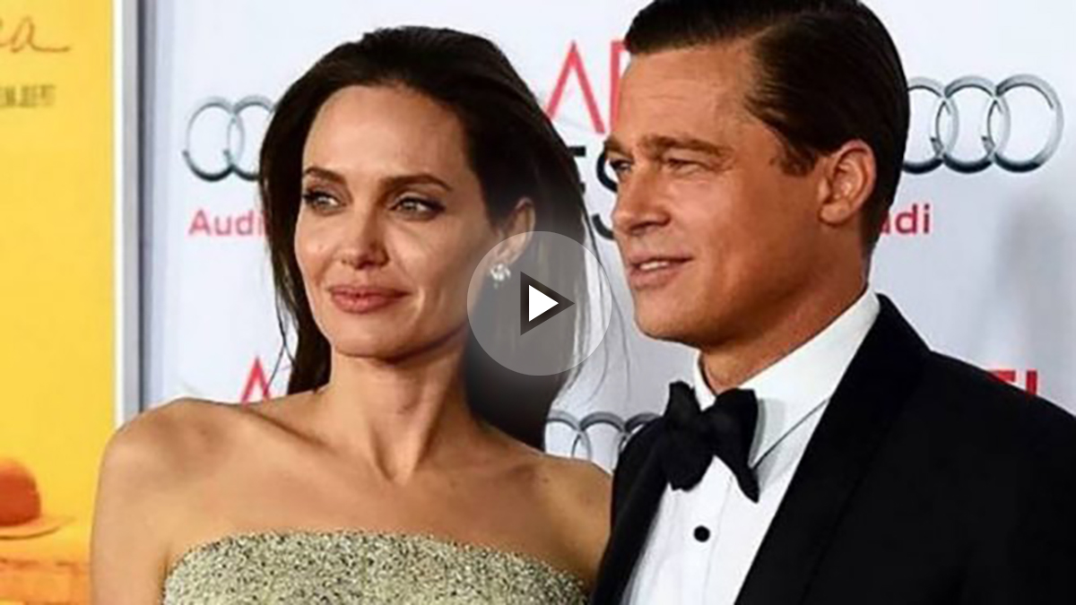 Angelina Jolie y Brad Pitt (Instagram)