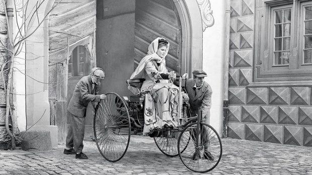 ¿Quién inventó el primer coche de gasolina? - Benz Motorwagen 01