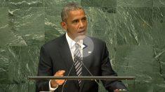 Barack Obama, este martes en la sede de la ONU.