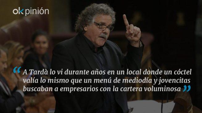 Tardà critica a los barones chismosos del PSOE