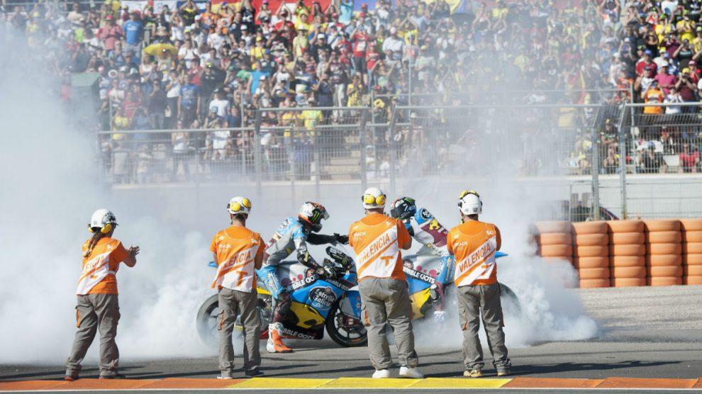 Cheste seguirá cerrando el mundial de MotoGP al menos hasta 2021. (Getty)