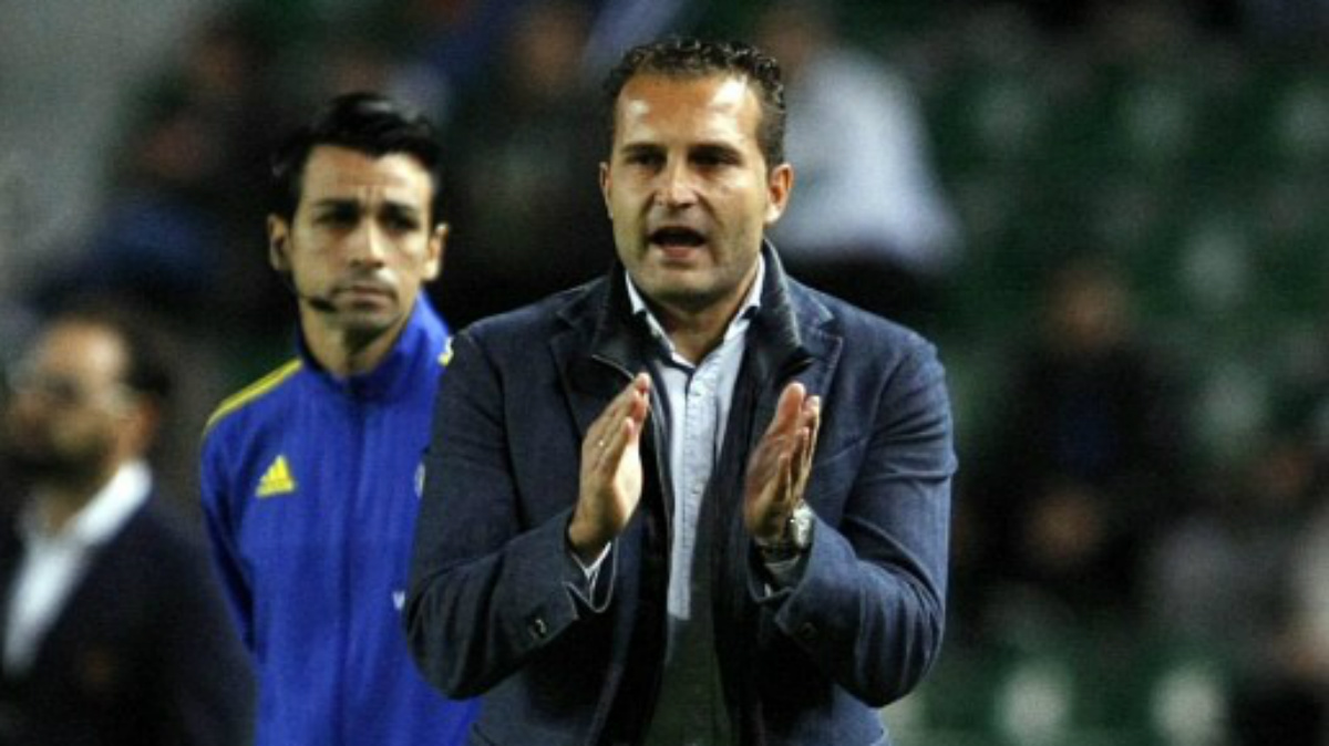 Rubén Baraja durante su etapa como entrenador del Elche. (laliga.es)