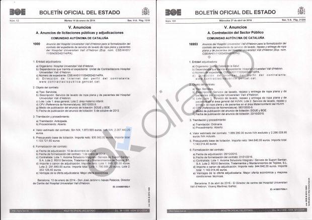 La Generalitat 'rescató' la empresa de una sobrina de Pujol con contratos ilegales por 4,4 millones