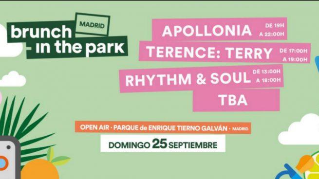 El sello Apollonia pondrá la banda sonora al próximo domingo en el segundo Brunch -In The Park Madrid