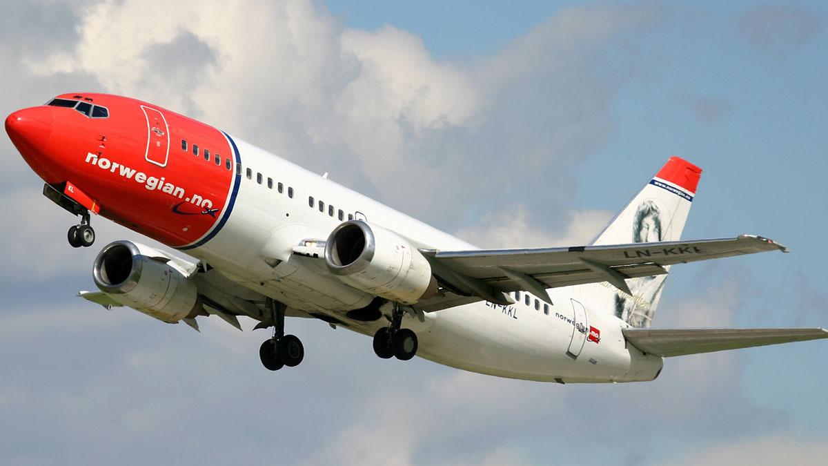 Los pasajeros de Norwegian se desploman un  95% en noviembre y agravan su delicada situación financiera