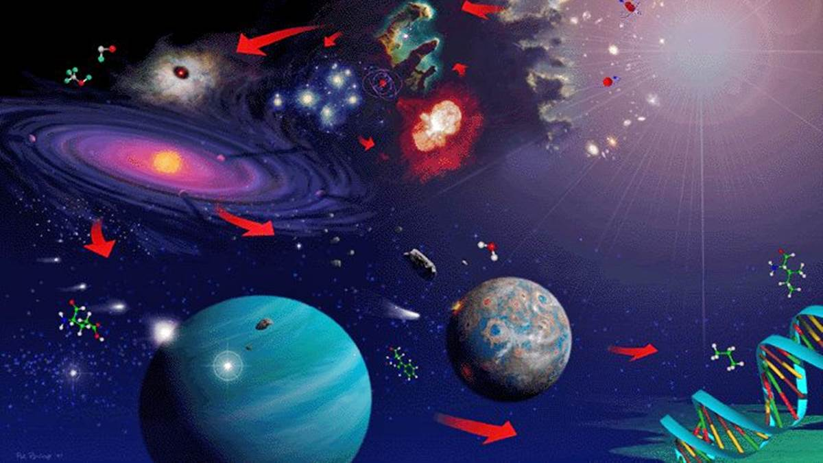 Descubre cuáles son los componentes del Universo