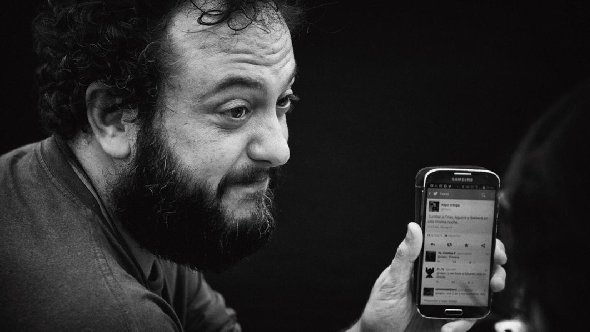Guillermo Zapata, el edil 'tuitero' de Carmena en imagen de archivo. (Foto: AM)