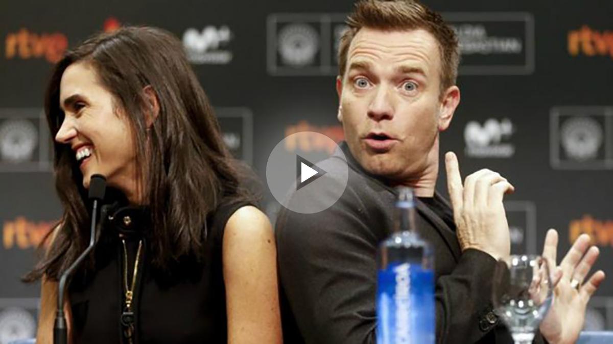 El actor y director de 'American Pastoral, Ewan McGregor, con la actriz Jennifer Connely. EFE