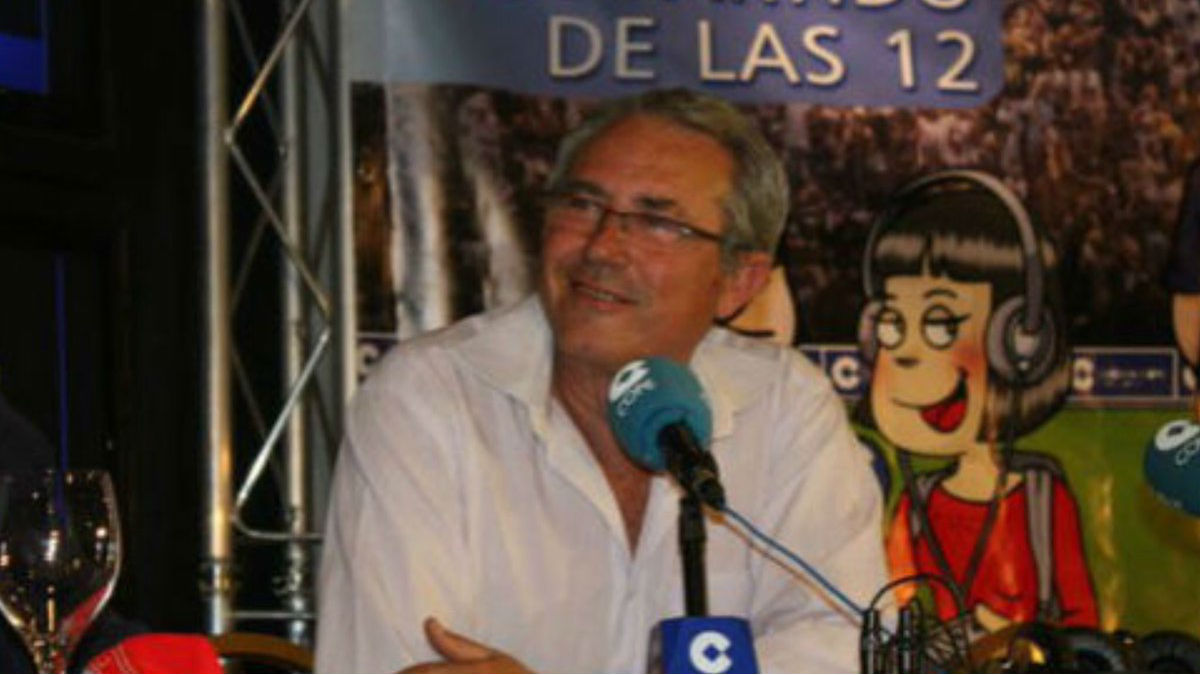 José Francisco Pérez Sánchez, durante su etapa en cope. (Twitter)