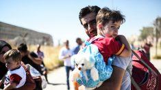 La edad o la ideología política no influyen en la percepción sobre los refugiados. (Foto: AFP)