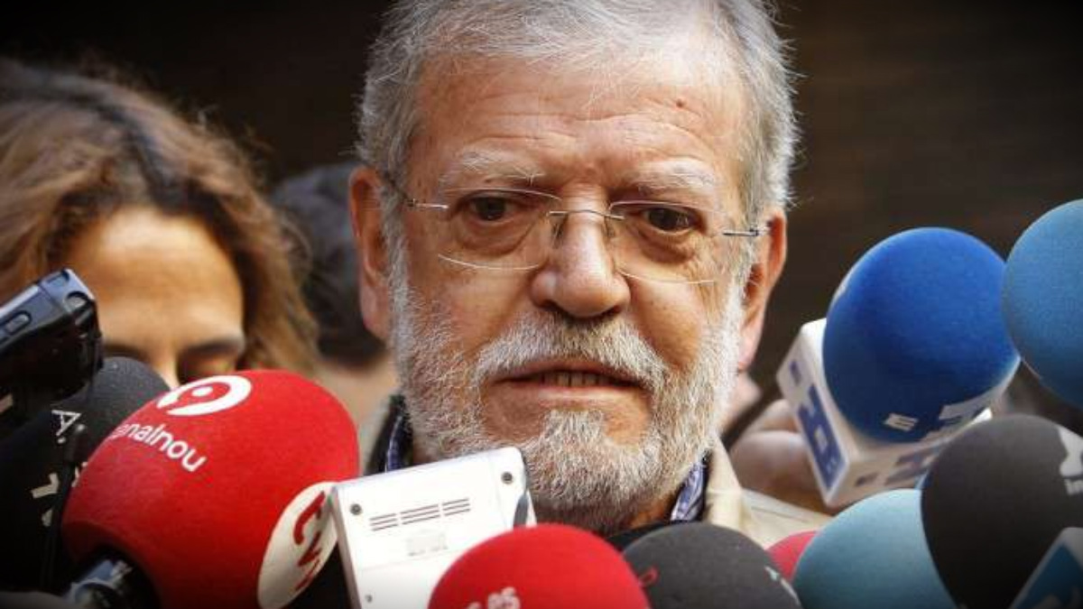 El ex presidente de Extremadura Juan Carlos Rodríguez Ibarra.