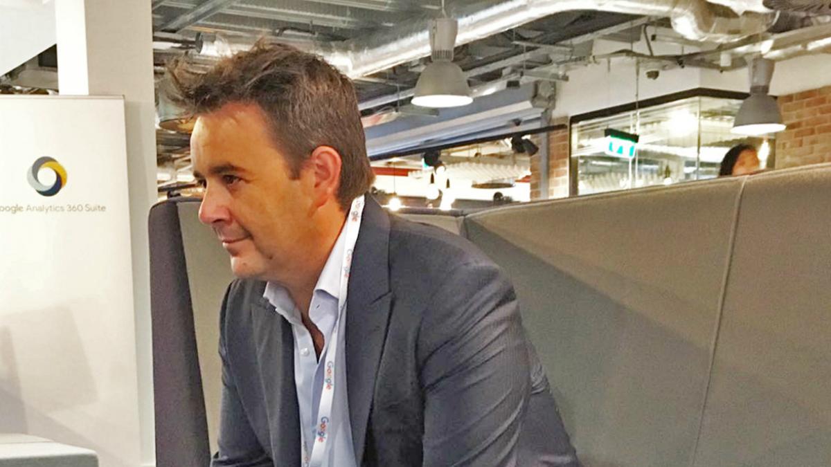 El CEO de Fastpayhotels Alex Gisbert.