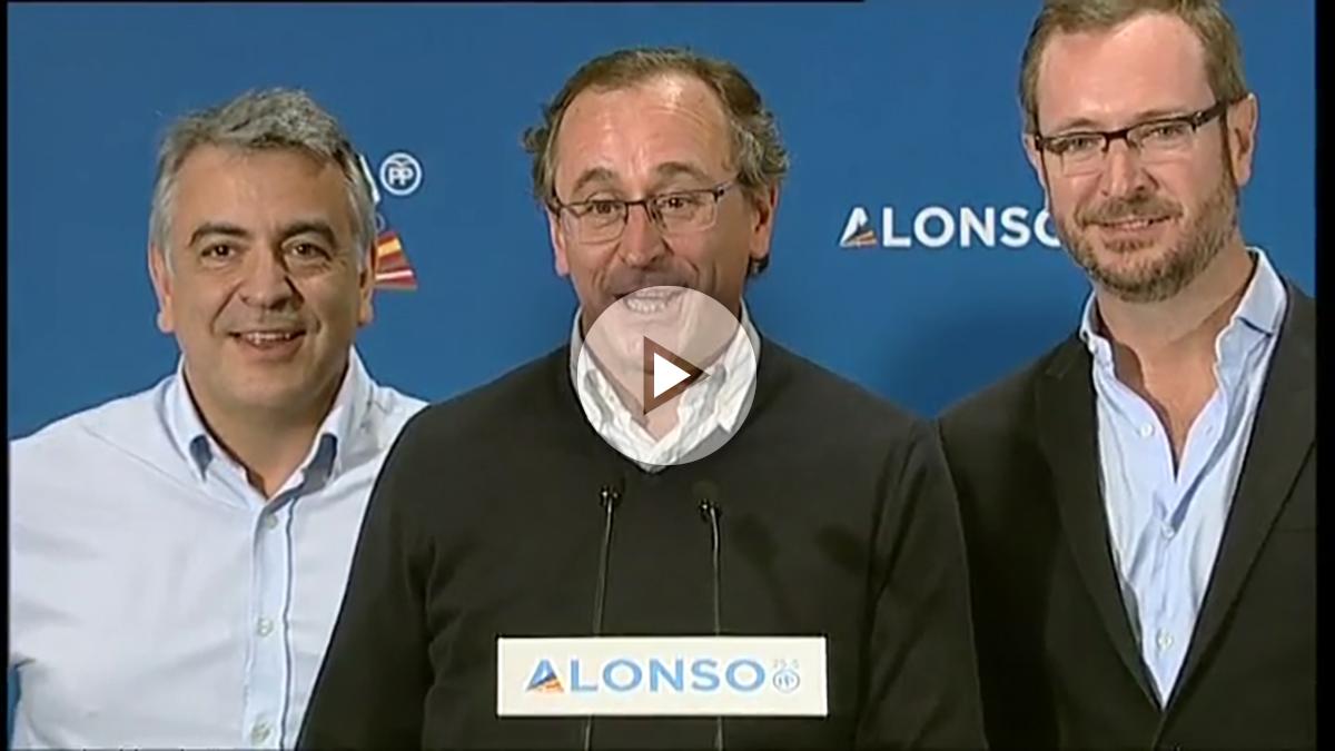 Alfonso Alonso, candidato del PP a lehendakari.