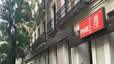 Sede socialista de la madrileña calle Ferraz.
